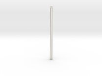 1:72 scale Navy whip antenna -Square (35 Foot) in White Strong & Flexible