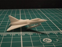 Convair F2Y 6mm 1/285 (With ski extended) in White Strong & Flexible