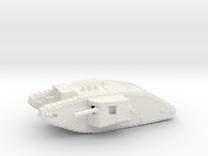 1/160 Mk.II Male tank in White Strong & Flexible