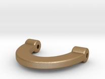 pocket watch conversion part for Geonaut watch in Matte Gold Steel