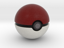 Pokemon - Pokeball in Full Color Sandstone