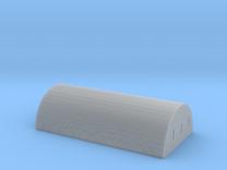 Nissen Hut 24ft Span 8 Bay N Gauge Brick Ends in Frosted Ultra Detail