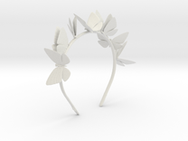 8 Flutterbys in White Strong & Flexible