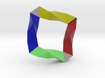 Quadrahelix10 in Full Color Sandstone