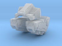 Standard Mech Booster Packs and Torso in Frosted Ultra Detail