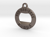 BubbaTag, Original in Stainless Steel