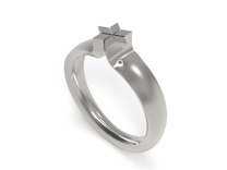 MAG.DA RING - SIZE 8 in Polished Silver