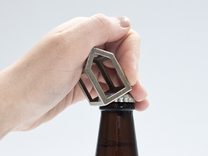 Open Huis Bottle opener in Stainless Steel