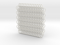 Chain Maille (European 6 in 1) in White Strong & Flexible