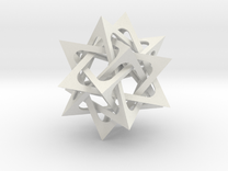 Five Tetrahedra in White Strong & Flexible
