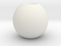 simple sphere in White Strong & Flexible