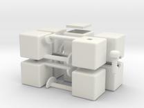 mini 1x2x5 in White Strong & Flexible