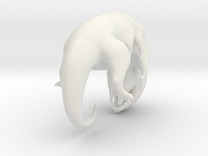 "Squidwolf  Specimen  - 2"" tall in White Strong & Flexible"