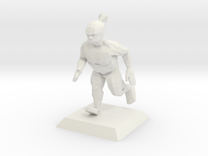 GREENIE character from Bruce videogame in White Strong & Flexible