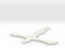 Pugnale no ali in White Strong & Flexible
