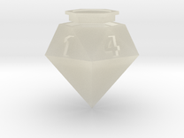 Diamond D6 in Transparent Acrylic