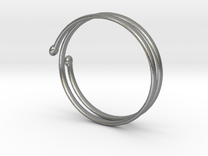 armband in Raw Silver