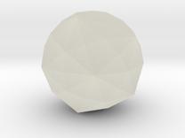 Disdyakis Triacontahedron in Transparent Acrylic