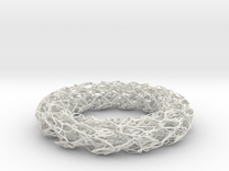 Scribbled Bracelet in White Strong & Flexible