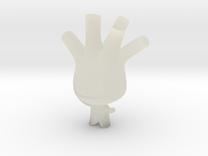 Leek Boy in Transparent Acrylic