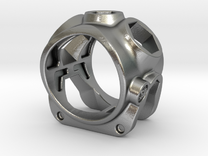1086 ToolRing - size 9 (18,90 mm) in Raw Silver