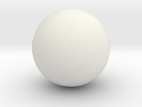 testball new netfabb in White Strong & Flexible