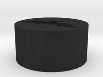 Aquilla Seal in Black Acrylic