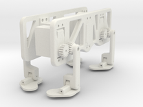 Chameleon Crawling Robot in White Strong & Flexible