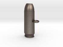 .50AE Bullet Pet Tag / Key Fob in Stainless Steel