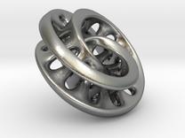 Mobius torus in Raw Silver