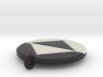 Regular Icon Pendant Small in Full Color Sandstone