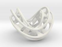 Mobius Hexagon Linkage in White Strong & Flexible