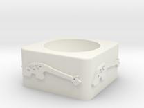 Girraffe ceramic v1 in White Strong & Flexible