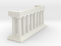 1:150 Parthenon Eastern Facade in White Strong & Flexible