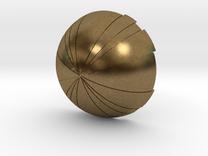 Thermal Detonator - Bottom hemisphere in Raw Bronze
