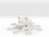 Octocat, hollow in White Strong & Flexible