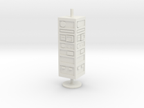 CP02 Comm Tower (28mm) in White Strong & Flexible