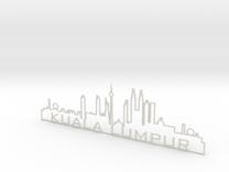 Kuala Lumpur in White Strong & Flexible