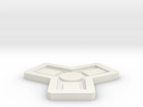Catan Mold in White Strong & Flexible