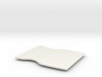 Mace Windu Belt Buckle Lid 1.0 in White Strong & Flexible