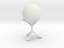 spheretrilemniscape3d in White Strong & Flexible