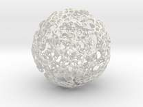 Linked Voronoi - Large in White Strong & Flexible
