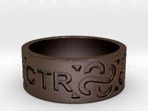 CTR Ring Size 12.5 Ring Size 12.5 in Polished Bronze Steel