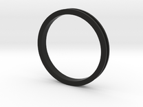 """1 1/2"""" Headset spacer 5mm in Black Strong & Flexible"""