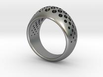 halftone in Raw Silver