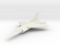 1/285 (6mm) Dassault Mirage F1  in White Strong & Flexible