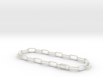 welded chain in White Strong & Flexible
