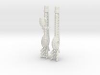 RailGun-Plasma pack for Heavy Mech suit in White Strong & Flexible