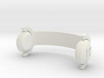 My Keepon Superstar DJ Headphones in White Strong & Flexible