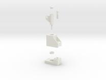 LORENZO stl in White Strong & Flexible